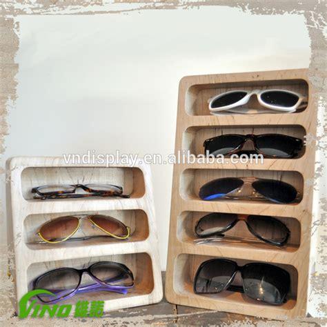 Rak Display Kacamata fashionable kacamata kayu layar berdiri kasus rak display