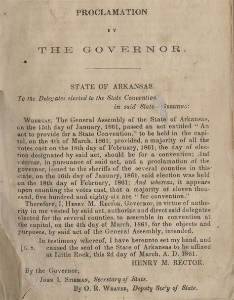 The War Of Secession a nation divided arkansas in the civil war history