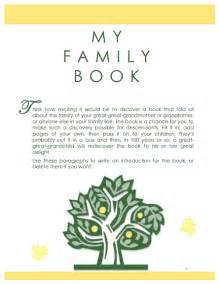 Family History Book Template by Family Tree Template Family History Record Template
