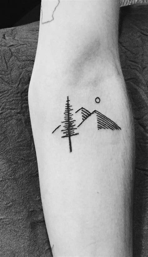 minimalist tattoo vancouver simple mount tattoo ink skin pinterest pandora