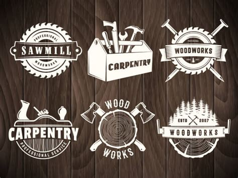 carpenter illustrations royalty  vector graphics