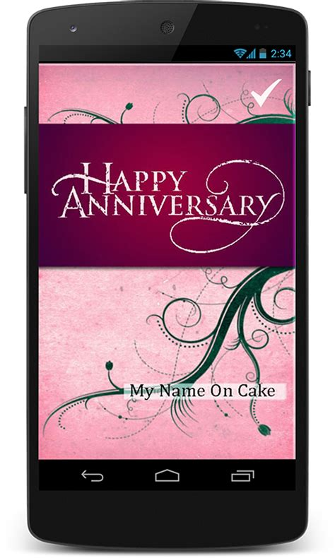 Wedding Wishes Ringtone by Anniversary Greeting Card Free Android App Android Freeware