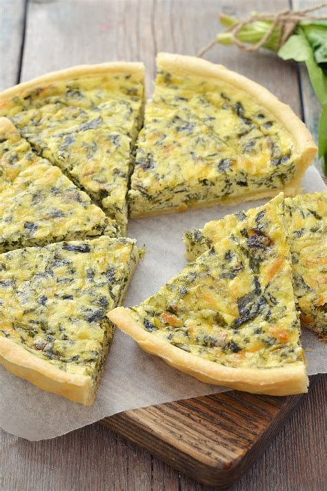 green chile spinach quiche spinach other cool things
