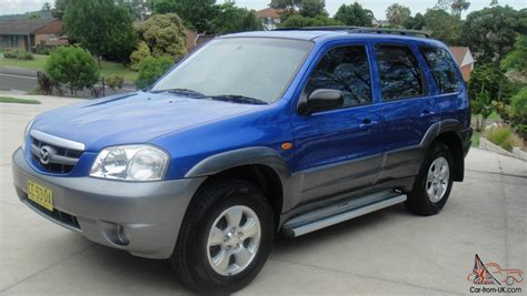mazda tributes mazda tribute luxury 2002 4d wagon 4 sp automatic 4x4 in