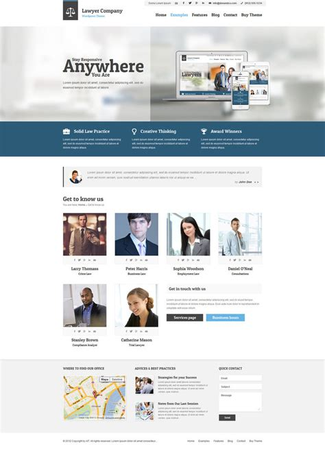 html5 themes adaptive get to know us by ait themes on deviantart