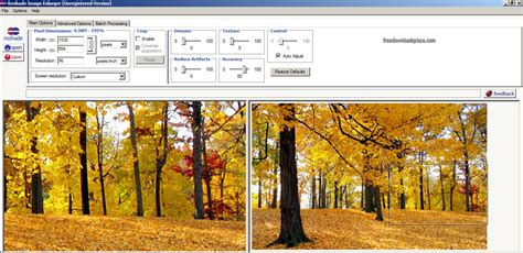 image enlarger reshade image enlarger will resize parts of an im