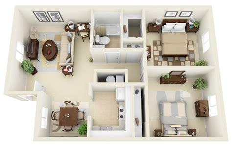plan appartement 2 chambres 50 plans en 3d d appartements et maisons page 3 sur 6