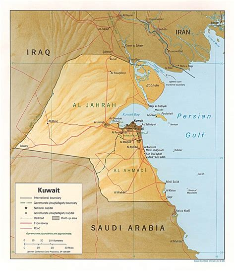 Kuwait Address Finder Nationmaster Maps Of Kuwait 12 In Total
