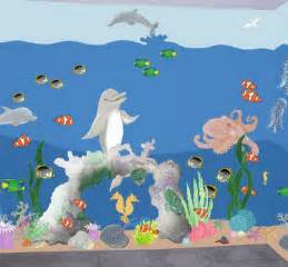 Wall Murals For Kids Wall Decal Quotes Wall Mural Ideas For Kids Under The Sea