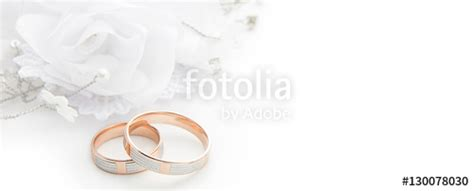 Wedding Borders With Rings by Quot Wedding Rings On Wedding Card On A White Background