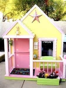 backyard playhouse compact tidy outdoor playhouses kidspace stuff