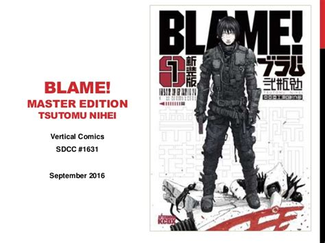blame master edition n 849167036x best and worst manga san diego comic con 2016