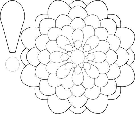 6 petal flower template six petal flower template cliparts co