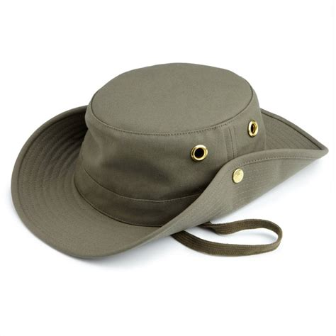 tilley t3 cotton duck hat olive