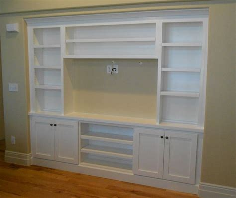 wall units amusing diy built in media center build your