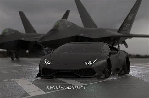 Lamborghini F22 Lamborghini Huracan By Liberty Walk Resembles A Fighter