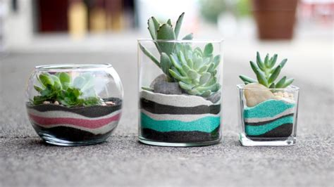 diy sand art terrarium tutorial