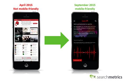 last fm mobile mobile ranking factors 2015 the rise of mobile search