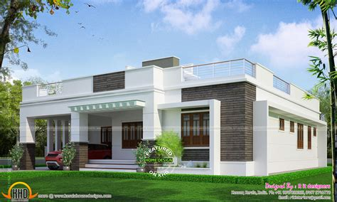 single floor house design kerala home plans