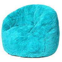 fuzzy teal bean bag chair fuzzy chairs couldn t find any big bean bags so i