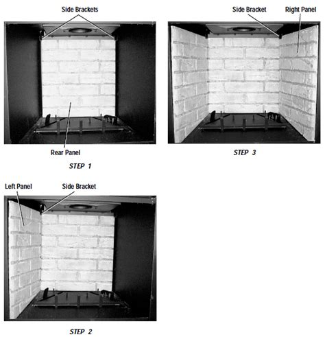 Fireplace Refractory Panel by Replacement Refractory Panel 24 Inch X 28 Inch