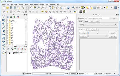 qgis analysis tutorial qgis space syntax toolkit space syntax online training