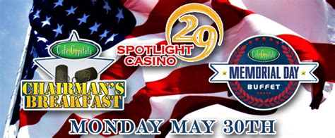 spotlight 29 buffet spotlight 29 casino honors personnel this memorial day coachella valley weekly