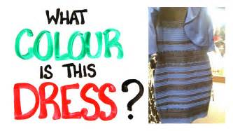 color of dress what colour is this dress solved with science