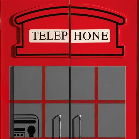 kleiderschrank englisch kleiderschrank im design einer englischen telefonzelle