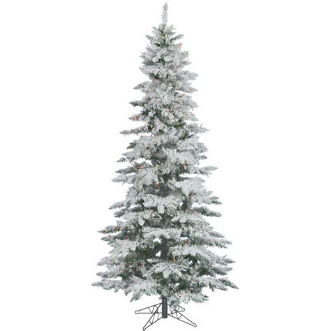flocked christmas trees walmart com