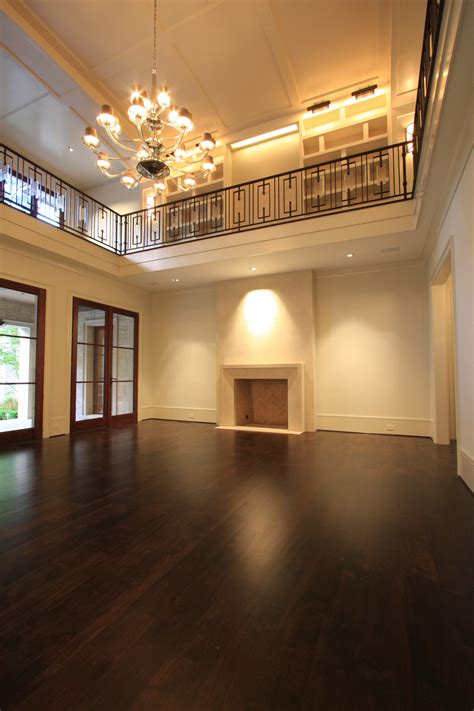 Two Story Living Room by Premier New Construction 421 Blackland Road Is Complete
