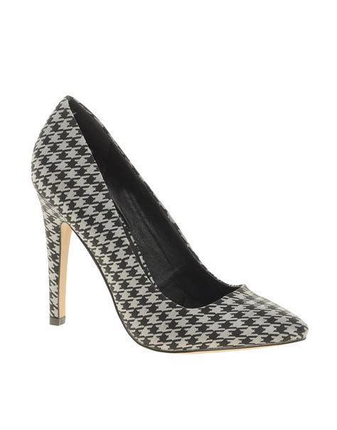 houndstooth high heels houndstooth shoes and bags