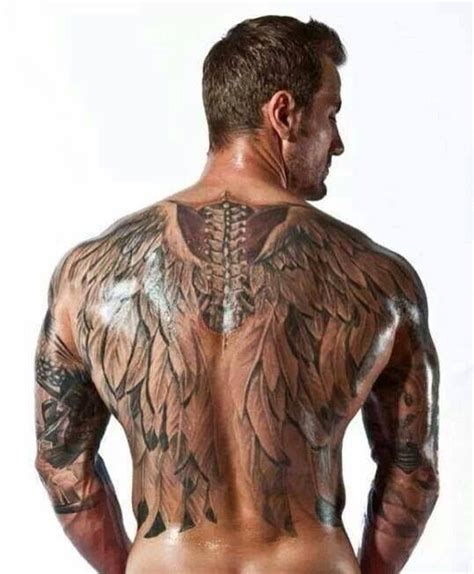 back tattoos for men wings collection of 25 back wings tattoos for