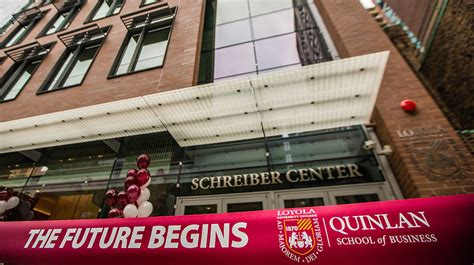 Quinlan Mba Calendar by Archive Loyola Celebrates New Business School Building