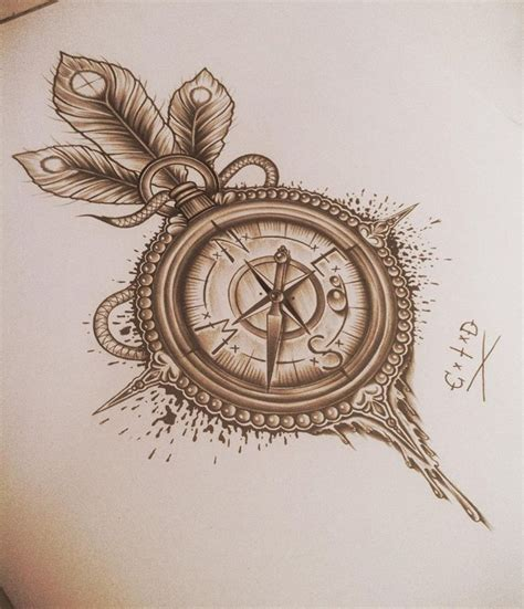compass tattoo design compass images designs