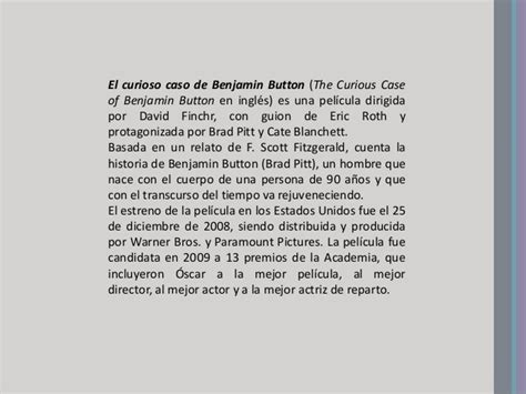 il curioso caso di benjamin button libro the curious of benjamin button