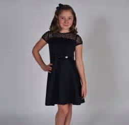 Tween party dresses 7 16 tween girl s navy elegance swing style dress