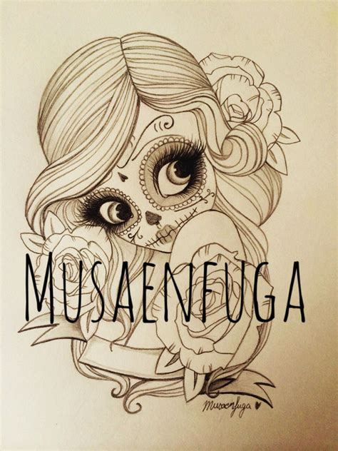tattoos de catrinas nuevo dise 241 o de catrina www musaenfuga