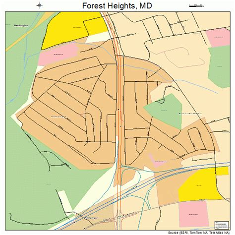 maryland forest map forest heights maryland map 2428725