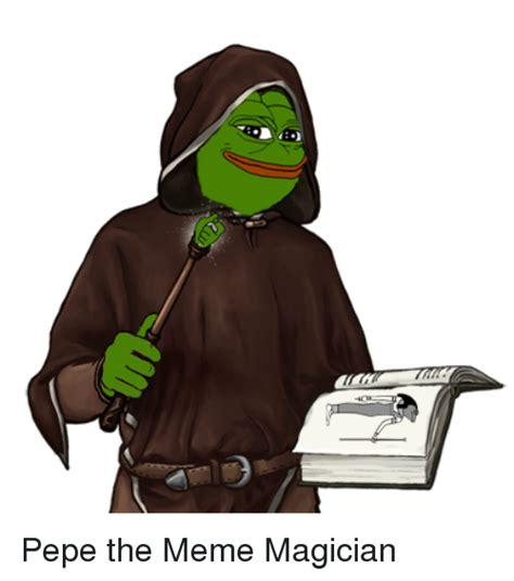 Magician Meme - pepe the meme magician meme on me me