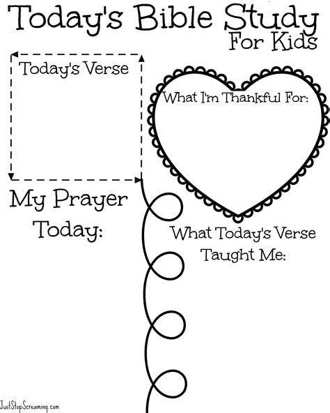 Free Bible Study Printable For Adults And Kids Printable For Toddlers