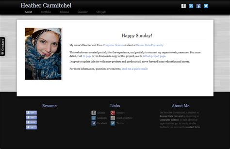 creating a webpage with twitter bootstrap edu kinect blog personal projects heather carmitchel