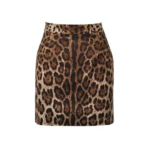 Dolce And Gabbana Leopard Print Mini Handbag by Second Dolce Gabbana Leopard Print Mini Skirt The