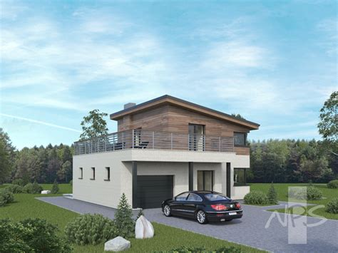 House Project | simple two storey house project that stands out in the