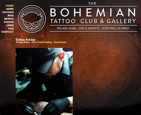 bohemian tattoo club tattoo collections