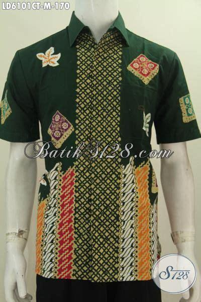Pakaian Pria Terbaru Hem Baju Pria Katun Melar Termurah hem batik istimewa lengan pendek pakaian batik modern