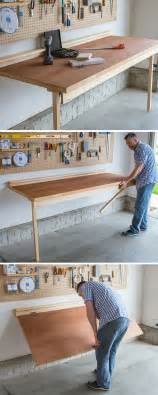 Build a drop down workbench no shop is complete without a workbench