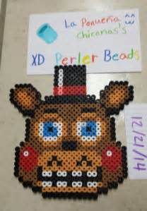 toy freddy perler beads by lapequenachicana on deviantart