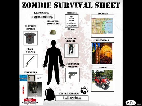 Survival Memes - zombie survival meme by onewithpasta on deviantart