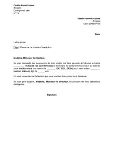 Lettre De Motivation Inscription Cole Exemple De Lettre De D 233 Mission Cui Covering Letter Exle